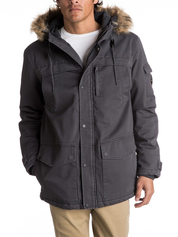 0 Storm Drop 5K - Waterproof Winter Parka Black EQYJK03352 Quiksilver
