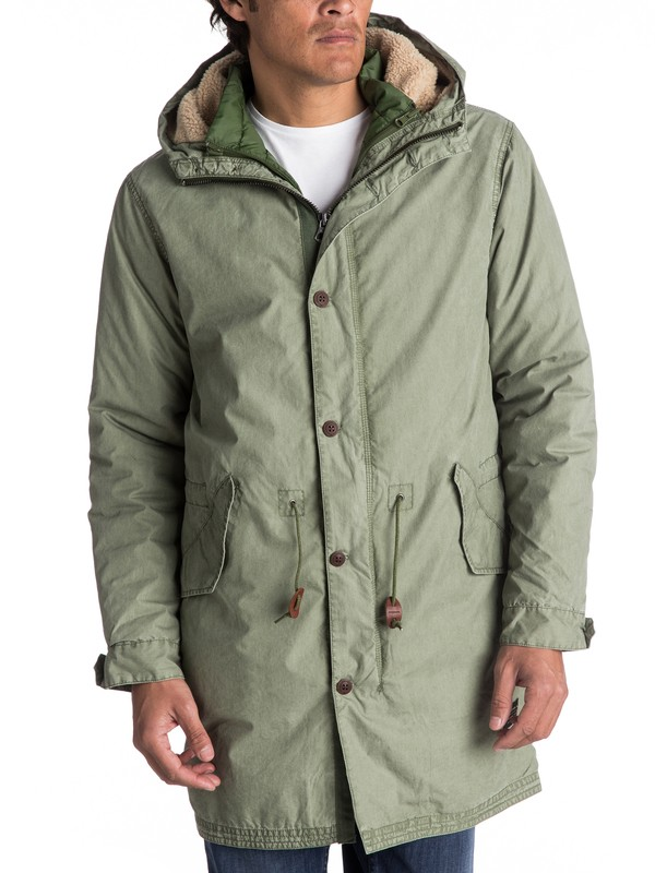 0 Bremer Land Longline 3-In-1 Jacket  EQYJK03356 Quiksilver