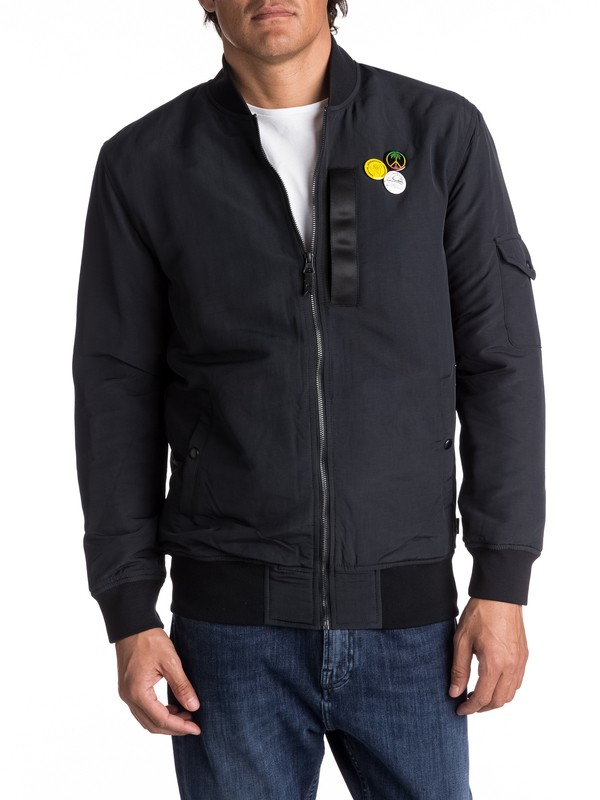 0 Trestles Army Long-Fit Bomber  EQYJK03359 Quiksilver
