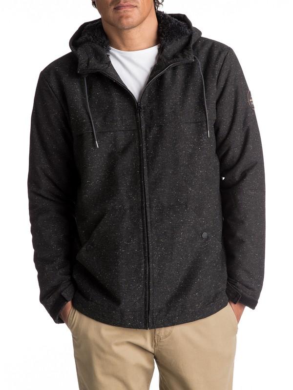 0 Wanna - Wasserabweisende Jacke für Männer Schwarz EQYJK03361 Quiksilver