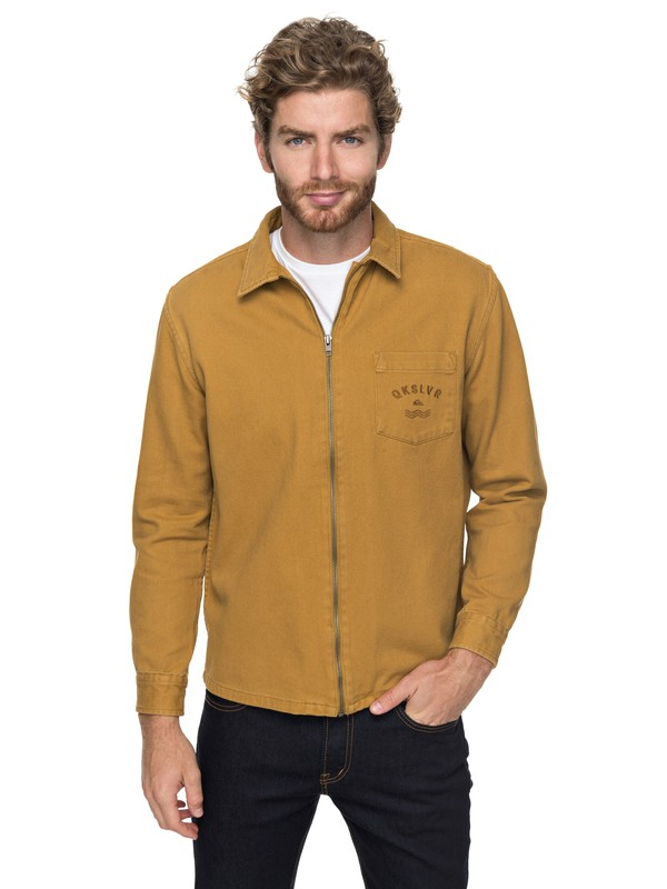 0 Riser Twill - Zip-Up Jacket for Men  EQYJK03391 Quiksilver