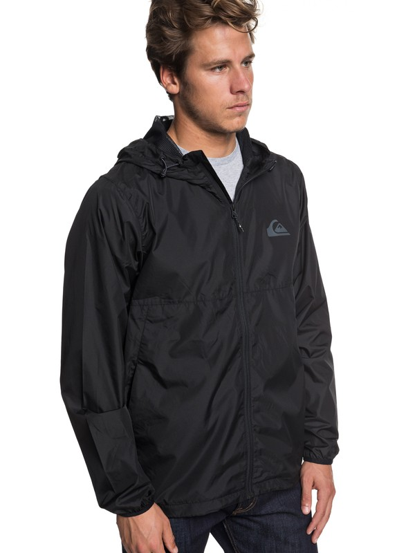 0 Everyday Windbreaker Black EQYJK03395 Quiksilver