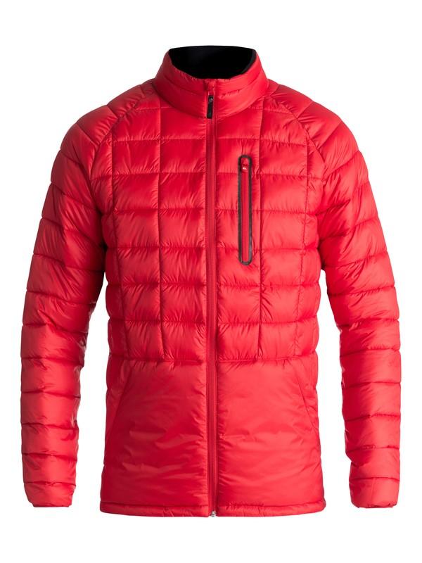 0 Release - Waterproof Zip-Up Jacket for Men Red EQYJK03400 Quiksilver