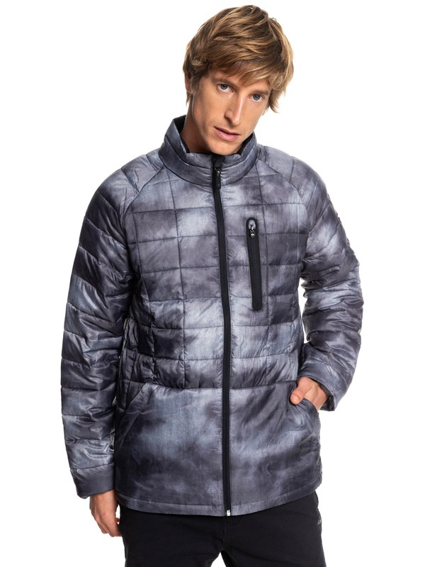 0 Release - Waterproof Zip-Up Jacket for Men Black EQYJK03400 Quiksilver