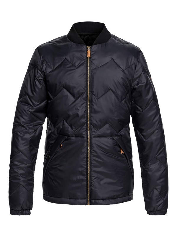 0 Cruiser - Water-Resistant Insulator Jacket for Men Black EQYJK03402 Quiksilver