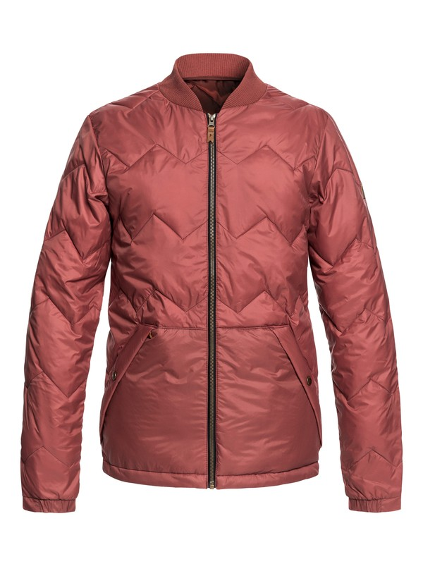 0 Cruiser - Water-Resistant Insulator Jacket for Men Red EQYJK03402 Quiksilver