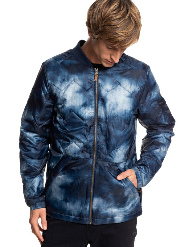 0 Cruiser - Water-Resistant Insulator Jacket for Men Blue EQYJK03402 Quiksilver