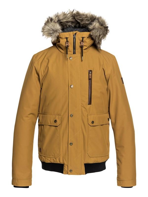 0 Куртка Arris Коричневый EQYJK03411 Quiksilver