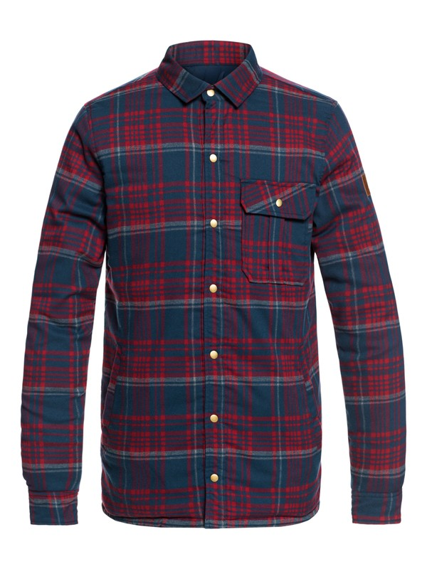 0 Wildard Plaid - Waterproof Over Shirt  EQYJK03416 Quiksilver