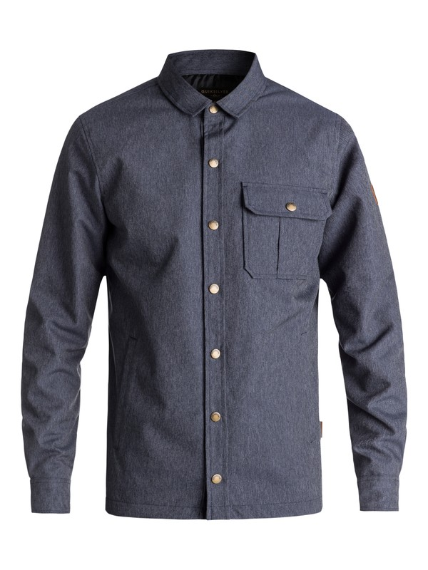 0 Wildcard Denim - Waterproof Over Shirt  EQYJK03417 Quiksilver