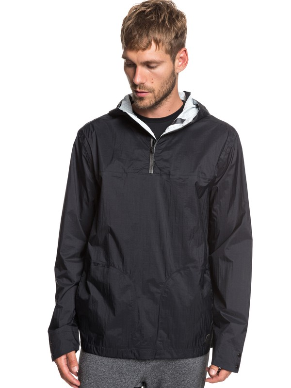 0 Adapt Water-Repellent Anorak Black EQYJK03474 Quiksilver