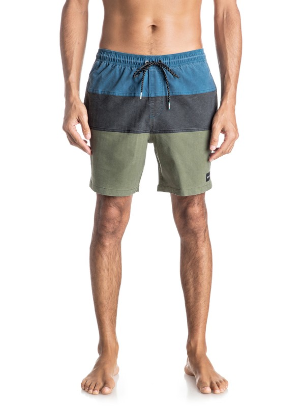 "0 Panel Blocked 17"" Volley Boardshorts  EQYJV03190 Quiksilver"