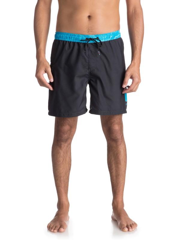 """0 Пляжные шорты Lava Logo 17"""" Черный EQYJV03309 Quiksilver"""