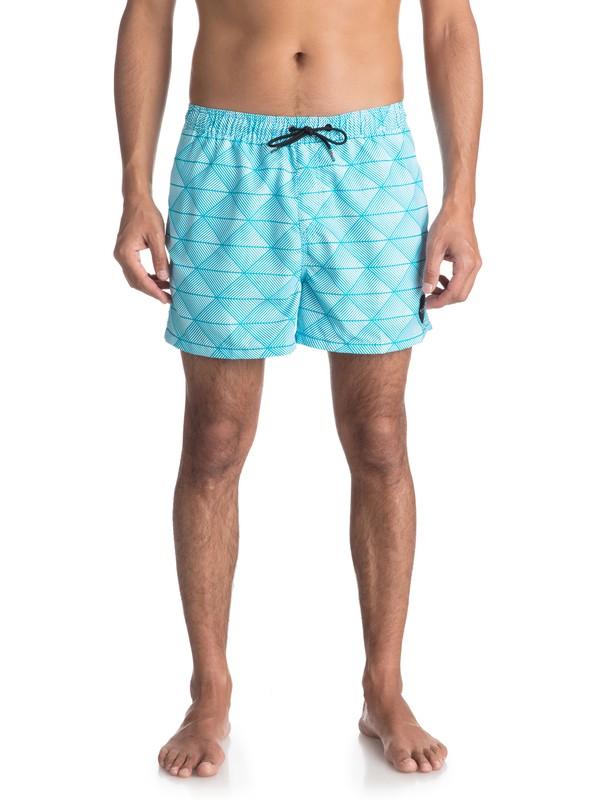 "0 Пляжные шорты Static Island 15"" Синий EQYJV03314 Quiksilver"