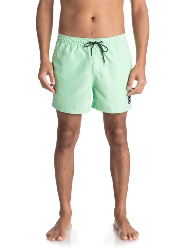 "0 Пляжные шорты Everyday 15"" Зеленый EQYJV03318 Quiksilver"