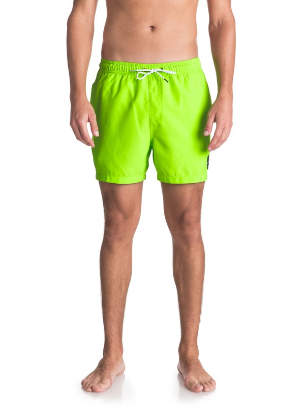 "0 Everyday 15"" - Swim Shorts for Men Green EQYJV03318 Quiksilver"