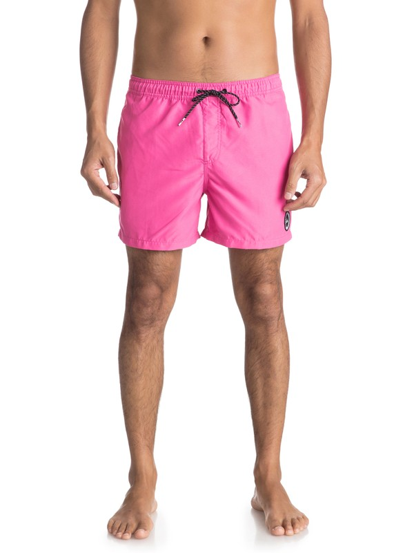 "0 Everyday 15"" - Swim Shorts for Men Pink EQYJV03318 Quiksilver"