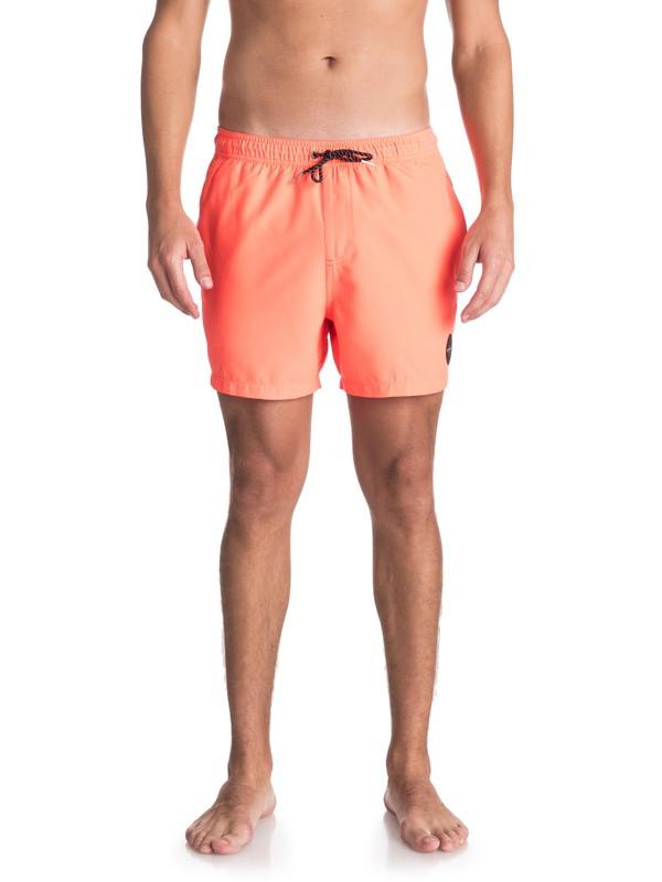 "0 Everyday 15"" - Swim Shorts for Men Pink EQYJV03318 Quiksilver"