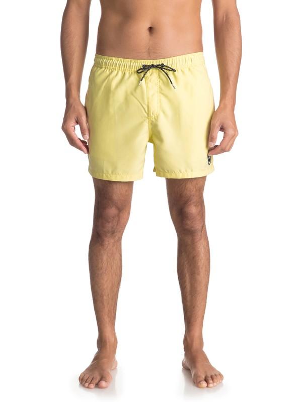 "0 Пляжные шорты Everyday 15"" Желтый EQYJV03318 Quiksilver"