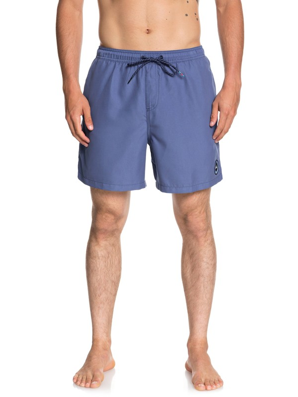 "0 Short Shorts Volleys Everyday 17"" Azul EQYJV03365 Quiksilver"