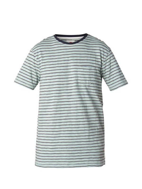 0 Stripe Slim Fit T-Shirt  EQYKT03002 Quiksilver