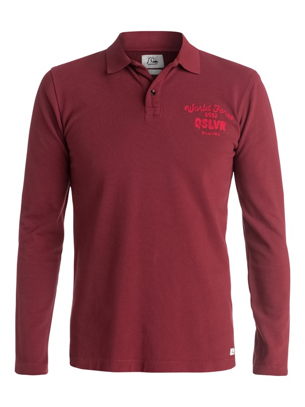 0 Faded Ghost - Polo manches longues  EQYKT03203 Quiksilver