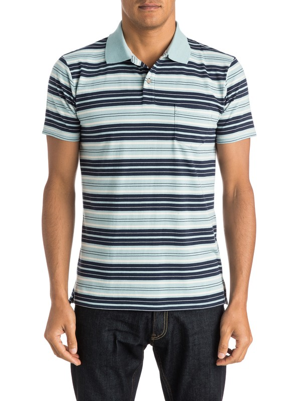 0 Dry Ice Polo - Polo Shirt  EQYKT03301 Quiksilver