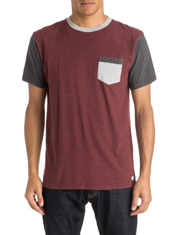 0 Baysic - Pocket T-Shirt  EQYKT03351 Quiksilver