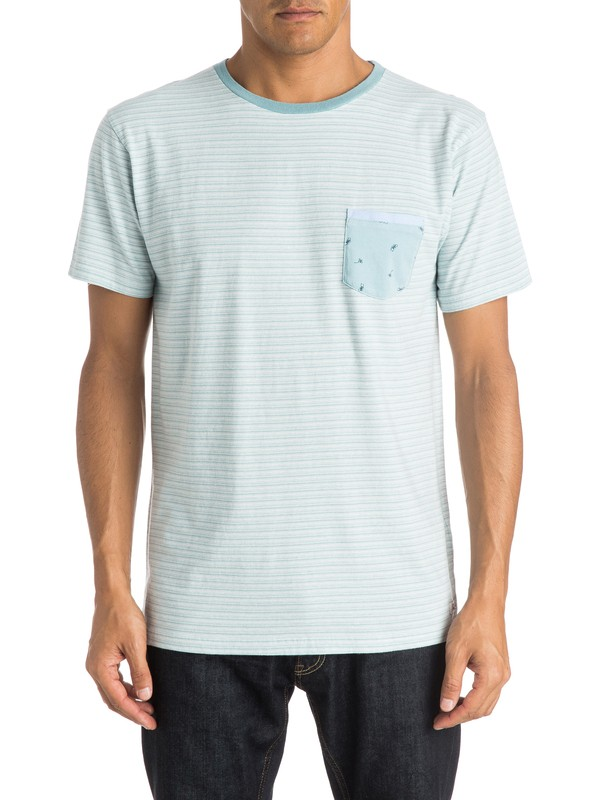 0 Basque Bay Pocket T-Shirt  EQYKT03357 Quiksilver