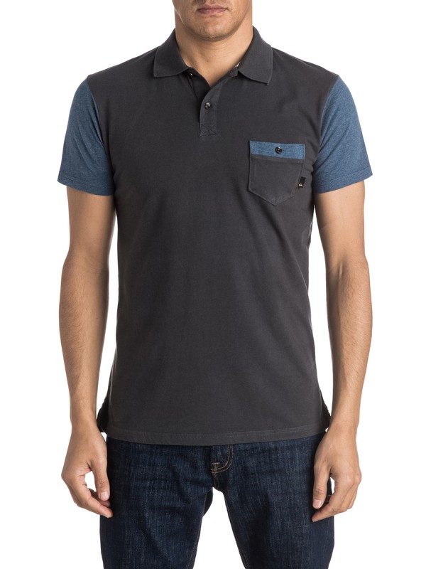 0 Baysic Polo Shirt  EQYKT03397 Quiksilver