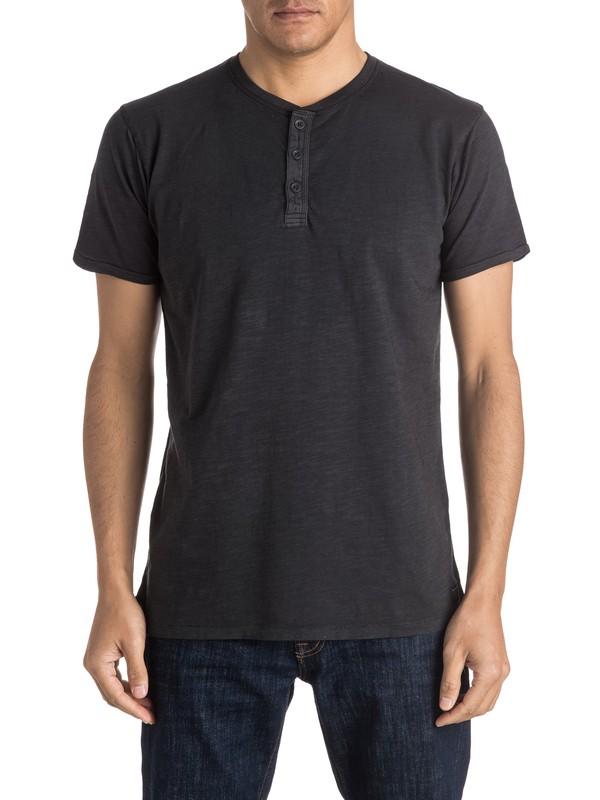 0 Runaround Short Sleeve Henley Tee  EQYKT03411 Quiksilver