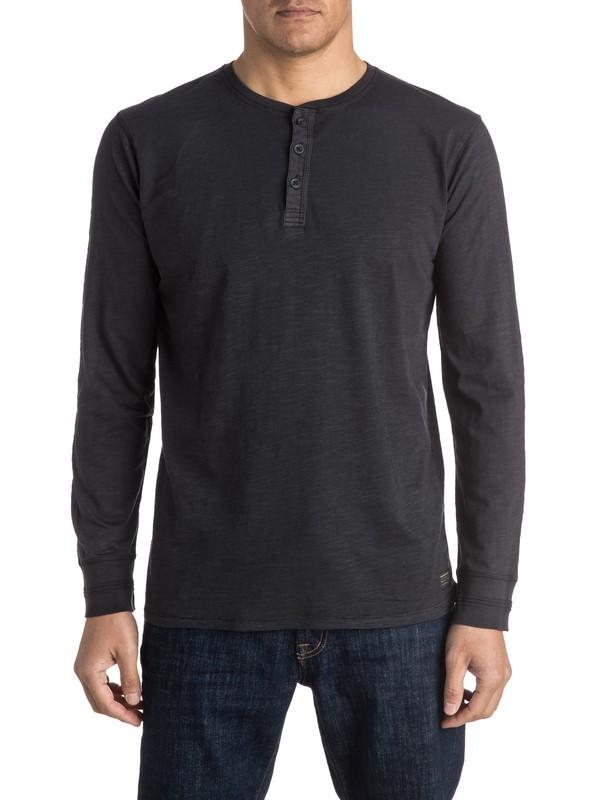 0 Runaround - Tee-Shirt à col boutonné et manches longues  EQYKT03412 Quiksilver