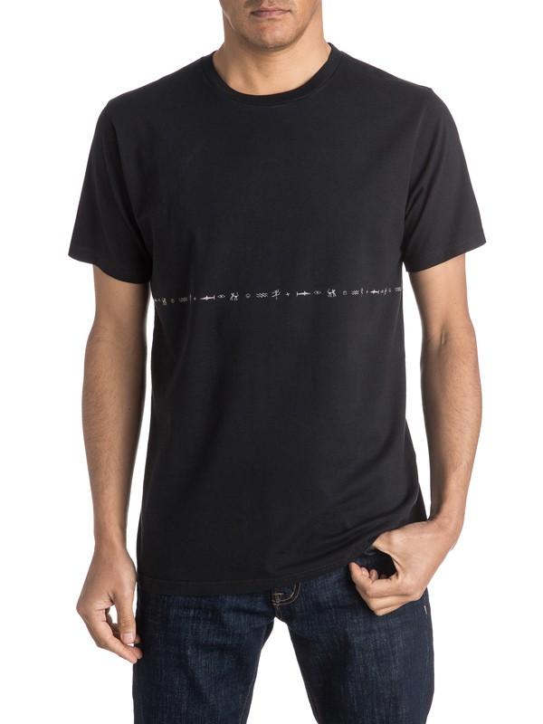 0 Baboon Rising - Tee-Shirt  EQYKT03427 Quiksilver