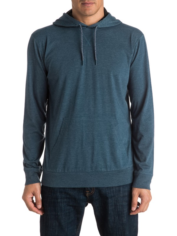 0 Put On Long Sleeve Hooded Tee  EQYKT03465 Quiksilver