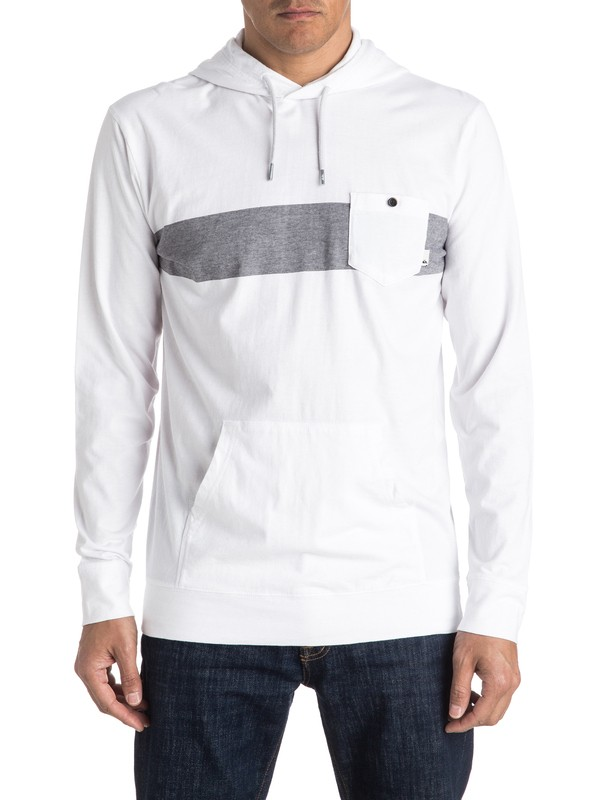 0 Radar Mass Long Sleeve Hooded Tee  EQYKT03466 Quiksilver