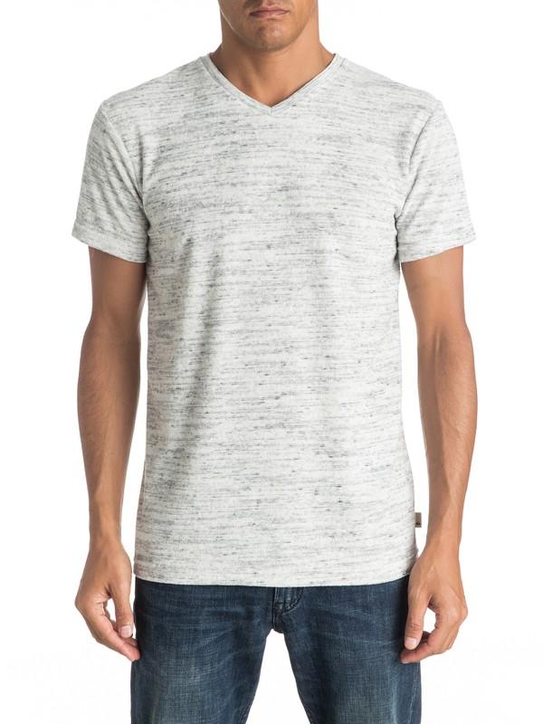 0 Ar Kiely V - Tee-Shirt Gris EQYKT03502 Quiksilver