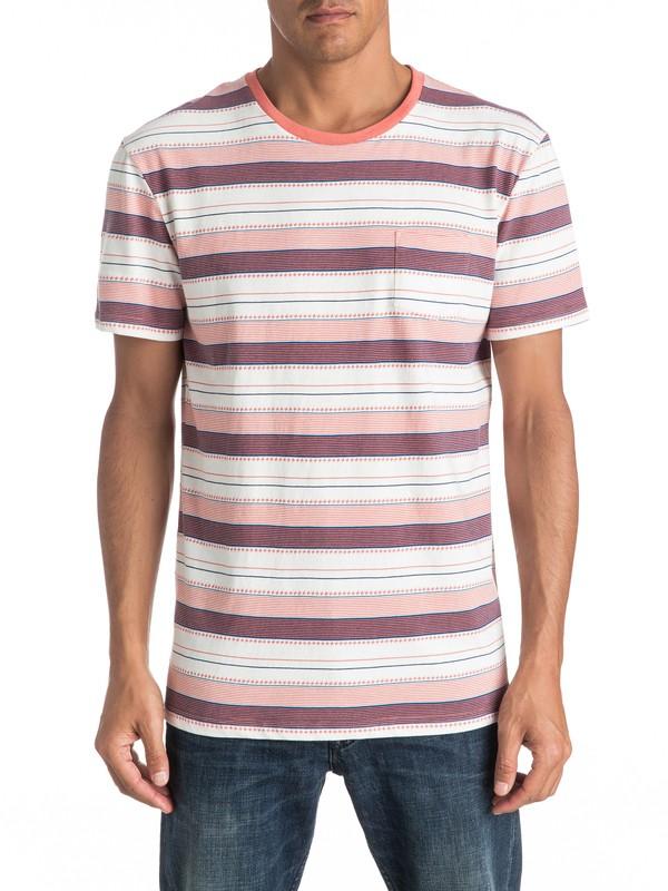 0 Pedry Dano - Camiseta Con Bolsillo Naranja EQYKT03508 Quiksilver