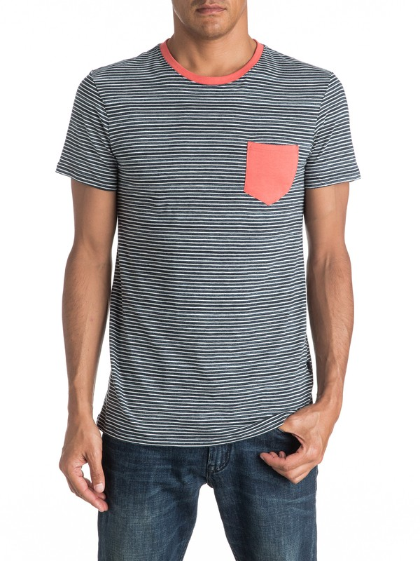 0 Cape May Lefts Pocket Tee  EQYKT03513 Quiksilver