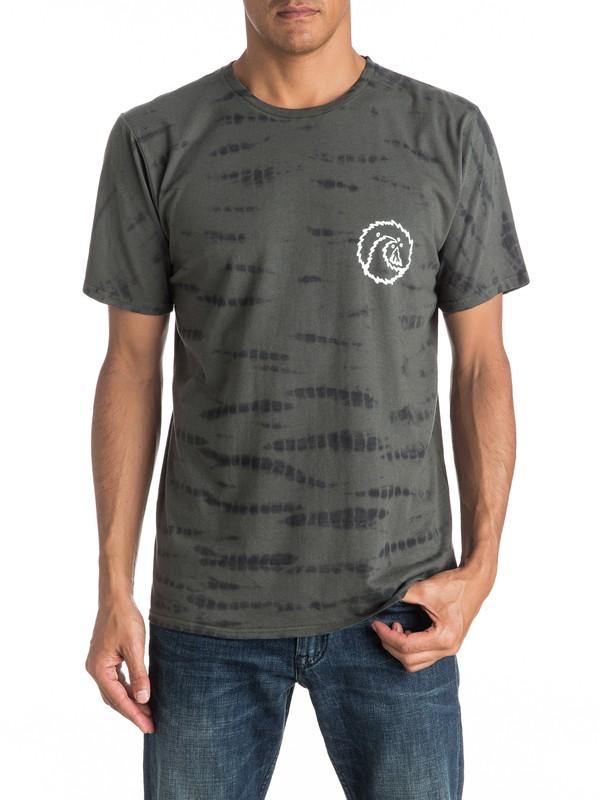0 Mellow Out Tie Dye - Tee-Shirt  EQYKT03525 Quiksilver