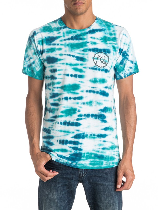 0 Mellow Out Tie Dye Tee  EQYKT03525 Quiksilver