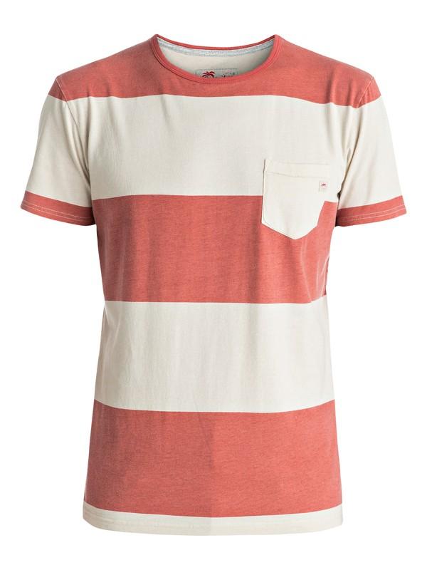 0 Maxed Out Hero - Pocket T-Shirt Orange EQYKT03537 Quiksilver