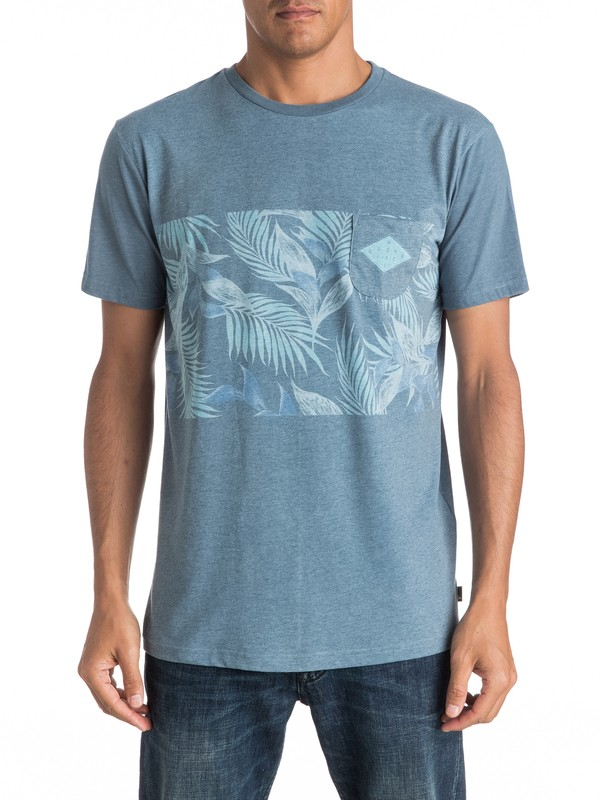 0 Faded Time - Pocket T-Shirt  EQYKT03545 Quiksilver