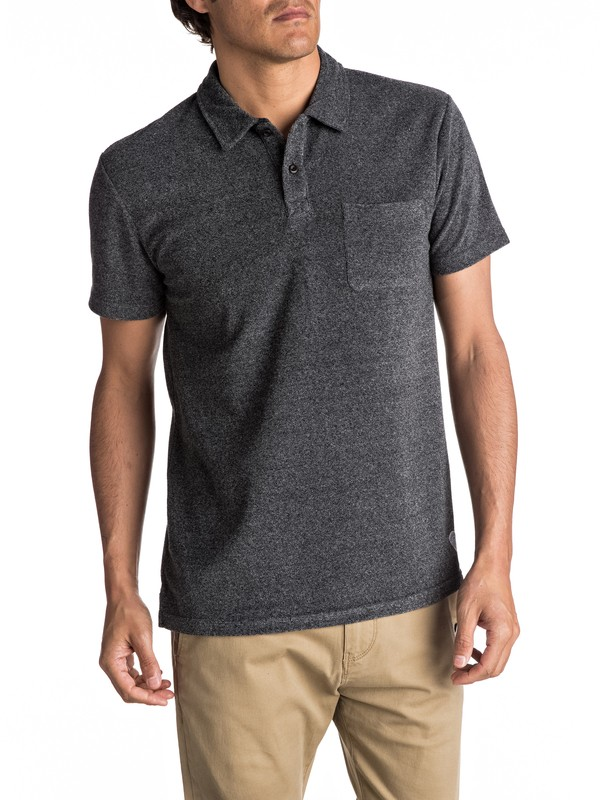 0 After Surf - Polo ultra-doux pour Homme  EQYKT03610 Quiksilver