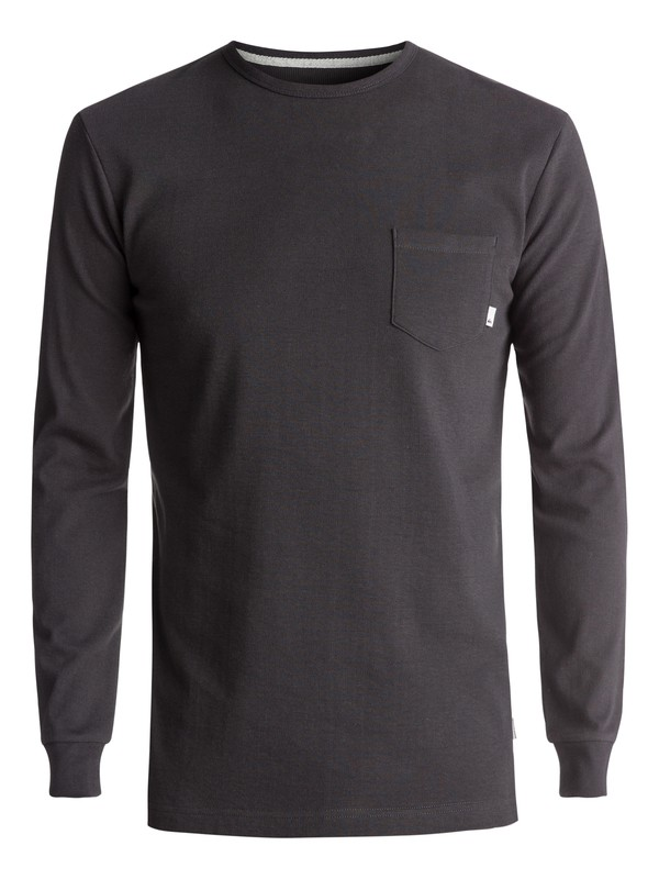 0 Snit Plain Long Sleeve Tee  EQYKT03631 Quiksilver