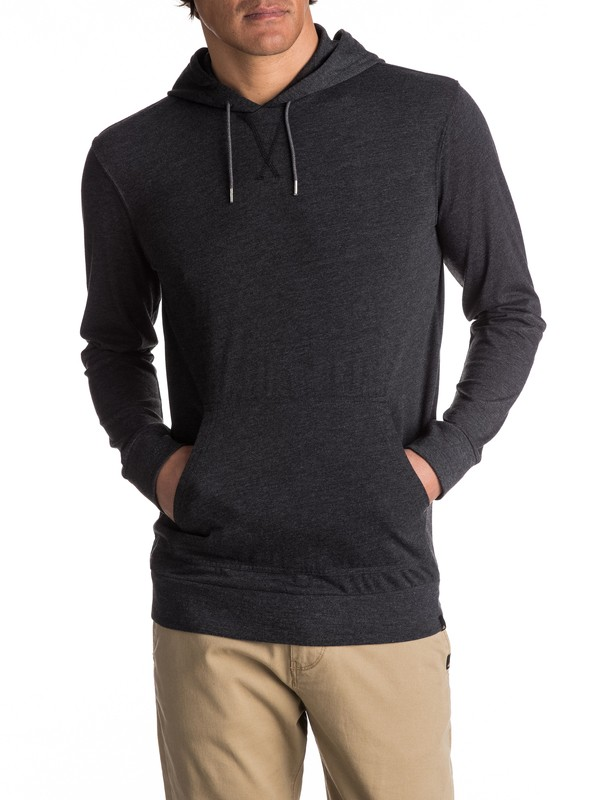 0 Guitar Magic Long Sleeve Hooded Tee  EQYKT03644 Quiksilver