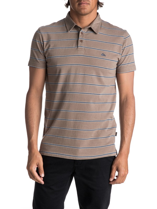 0 Men's Watton Polo Shirt  EQYKT03667 Quiksilver