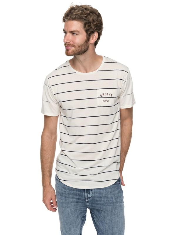 0 Caper Rocks - T-Shirt White EQYKT03682 Quiksilver