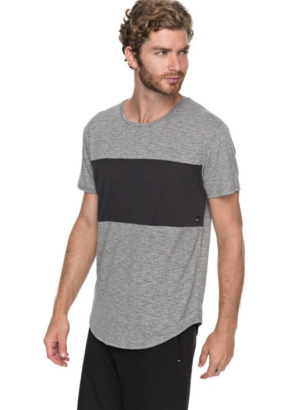 0 Skybreak - T Shirt col rond Noir EQYKT03685 Quiksilver