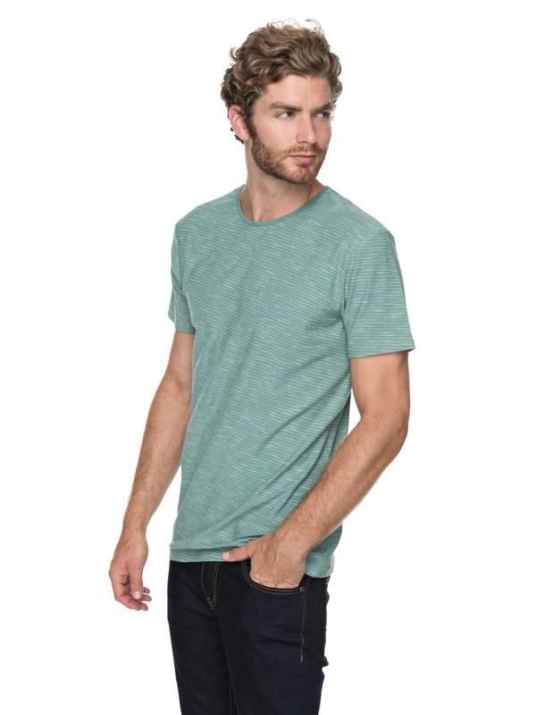 0 Ken Tin - T-Shirt voor Heren Blue EQYKT03687 Quiksilver