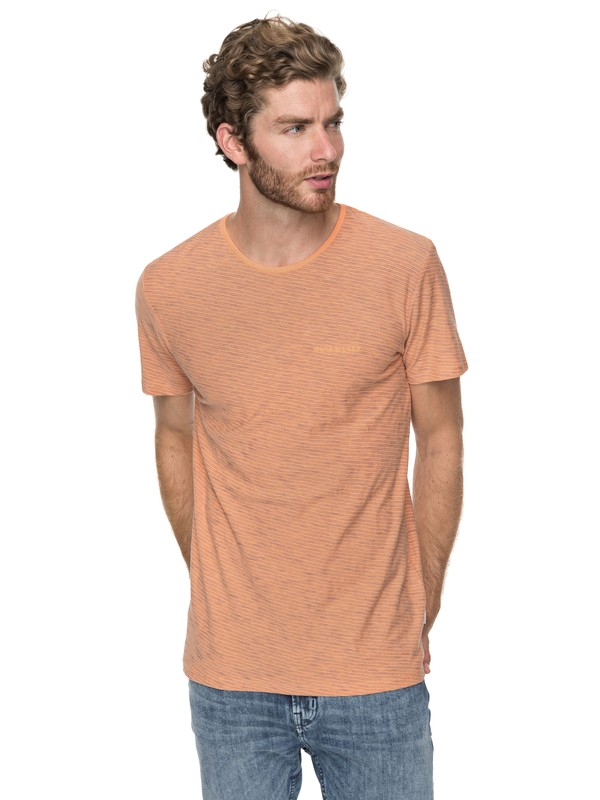 0 Ken Tin - T-Shirt voor Heren Orange EQYKT03687 Quiksilver